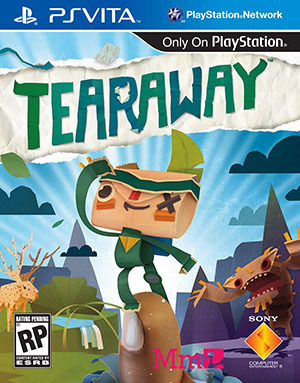 Tearaway box PS Vita USA A