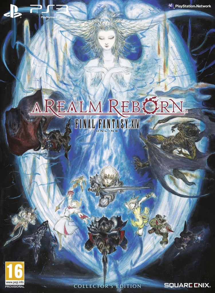 Final Fantasy XIV A Realm Reborn Collector's Edition PS3 cover EURO