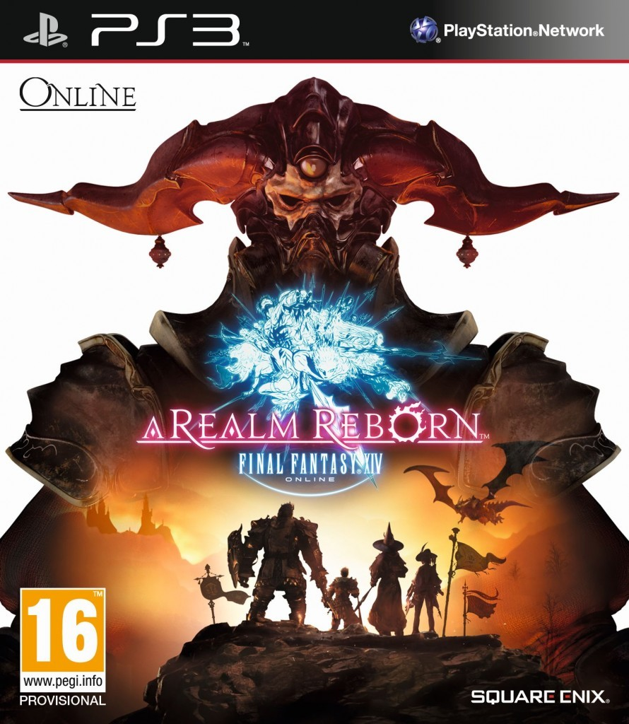 Final Fantasy XIV A Realm Reborn PS3 cover EURO