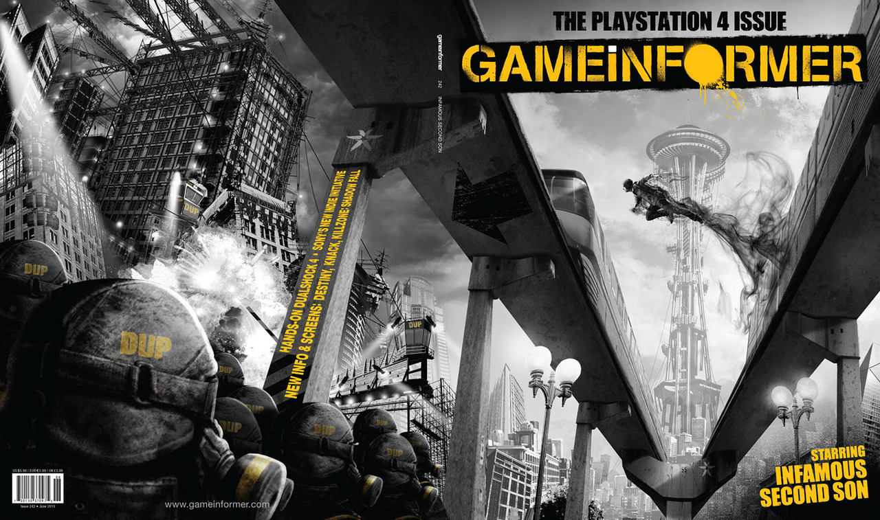 Game Informer June 2013 - inFAMOUS Second Son - Full cover