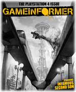 Game Informer June 2013 - inFAMOUS Second Son - cover Logo