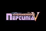 Hyperdimension Neptunia Victory Logo black