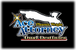 Phoenix Wright Ace Attorney -Dual-Destinies Logo black