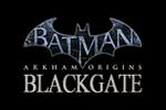 Batman Arkham Origins-Blackgate Logo black