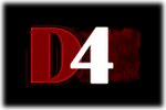 D4 Logo black