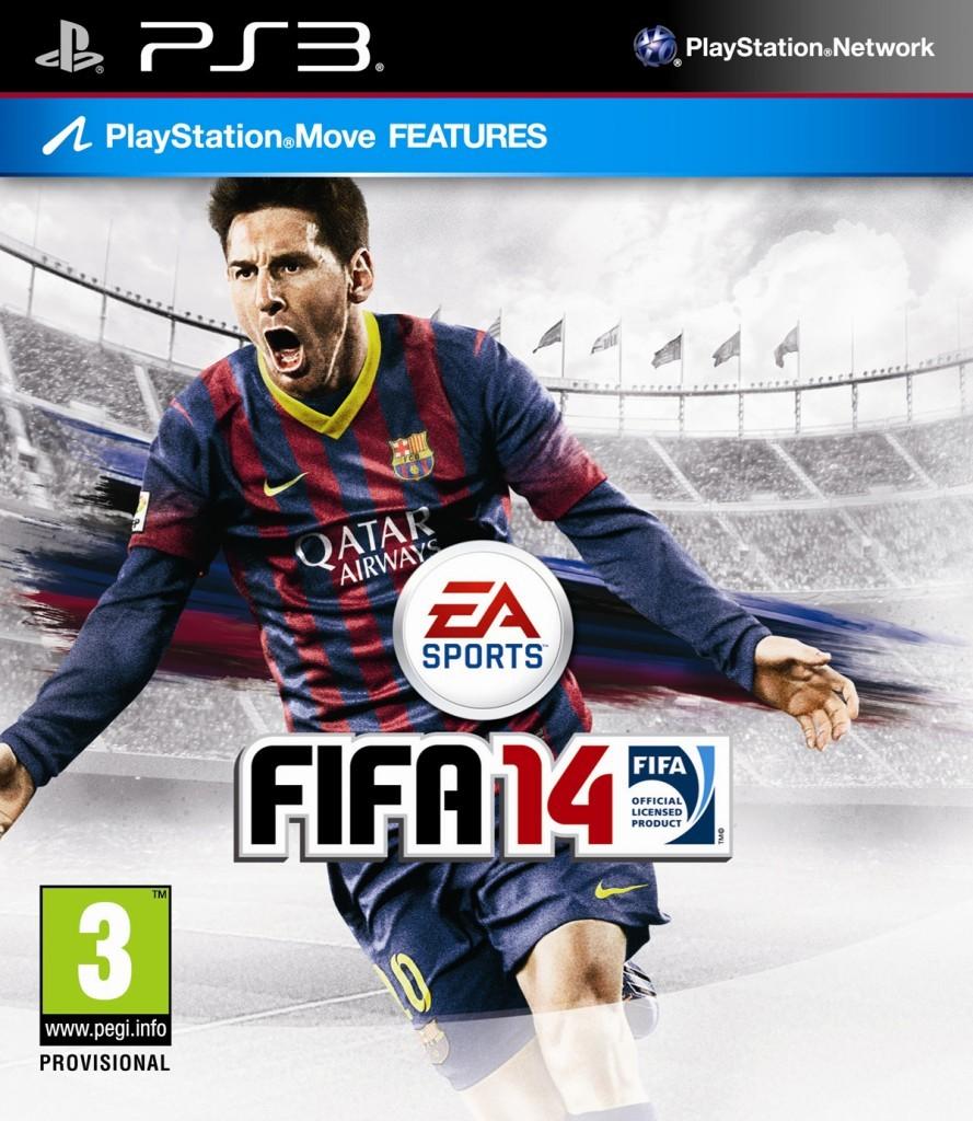 FIFA 14 cover PS3 EURO