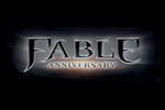 Fable Anniversary Logo black