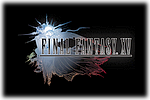 Final Fantasy XV Logo black