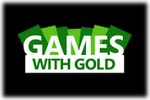 Games with Gold Logo black