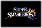 Smash Bros Logo black