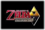 Zelda A LinkBetween Worlds Logo black
