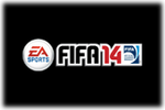 EA Sports FIFA 14 Logo black