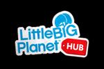 LittleBigPlanet Hub Logo black