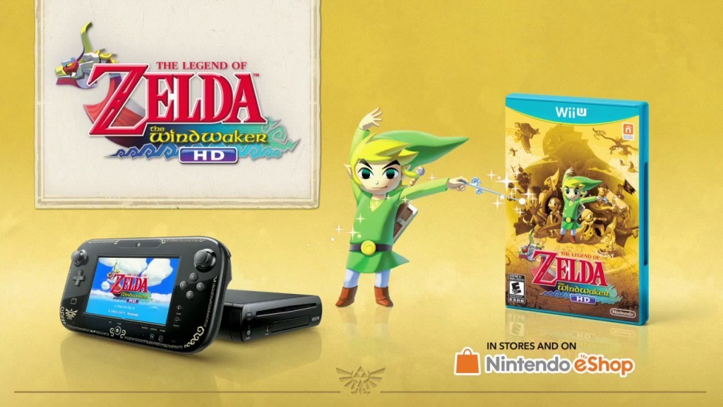 Nintendo Wii U Bundle with The Legend of Zelda The Wind Waker