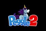 Peggle 2 Logo black