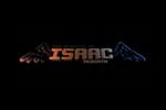 The Binding of Isaac - Rebirth Logo black