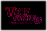 The Wolf Among Us Logo black
