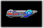 Mighty No.9 Logo black