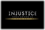 INJUSTICE Gods Among Us - Ultimate Edition Logo black