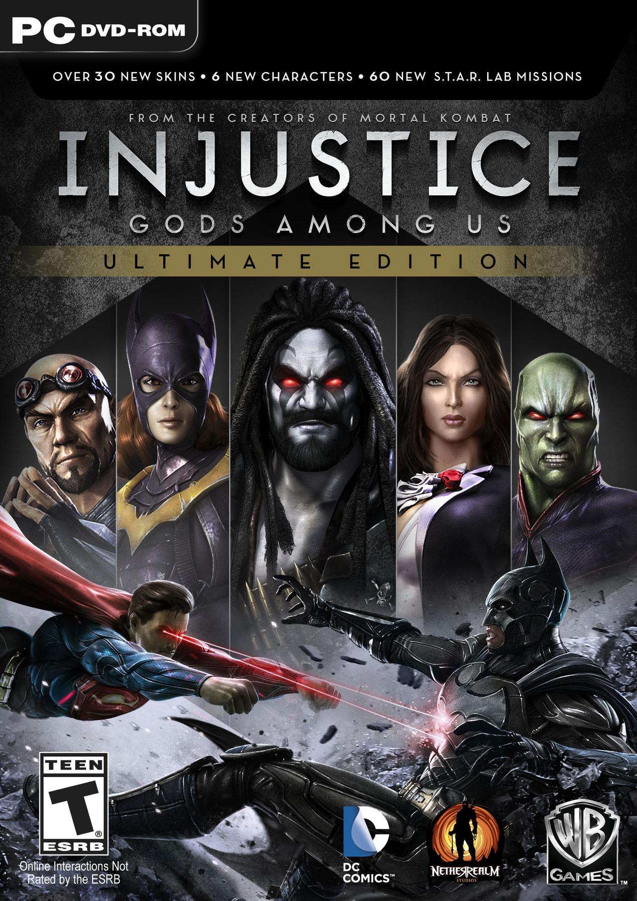injustice gods among us ultimate edition anunciado para 360 pc ps3 ps4 y vita el dojo gamer. Black Bedroom Furniture Sets. Home Design Ideas