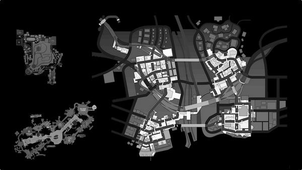Dead Rising 3 - Map