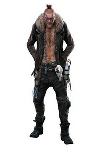 Dead Rising 3 - Hunter Thibadeuax Character