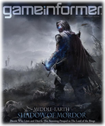 Game Informer - December 2013 - Middle-earth Shadow Of Mordor cover Logo
