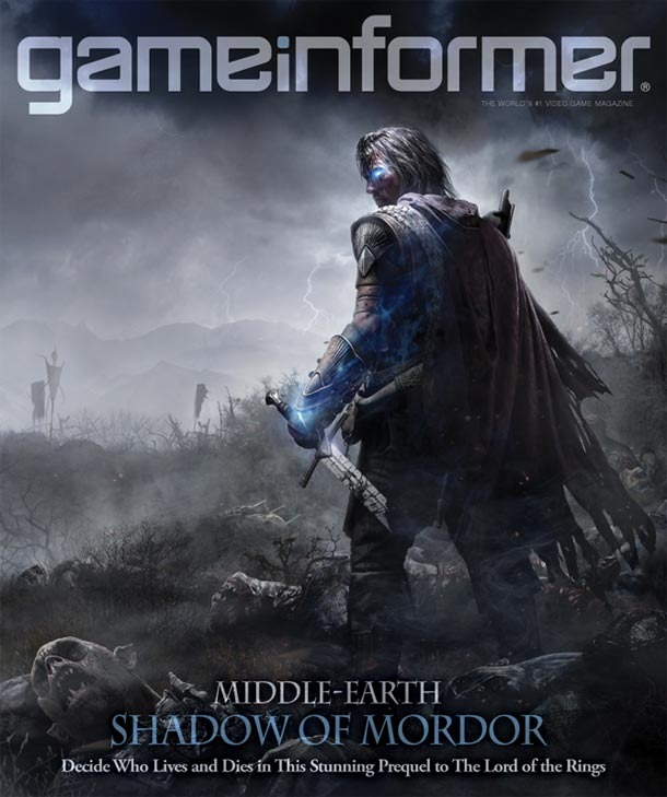 Game Informer - December 2013 - Middle-earth Shadow Of Mordor cover front