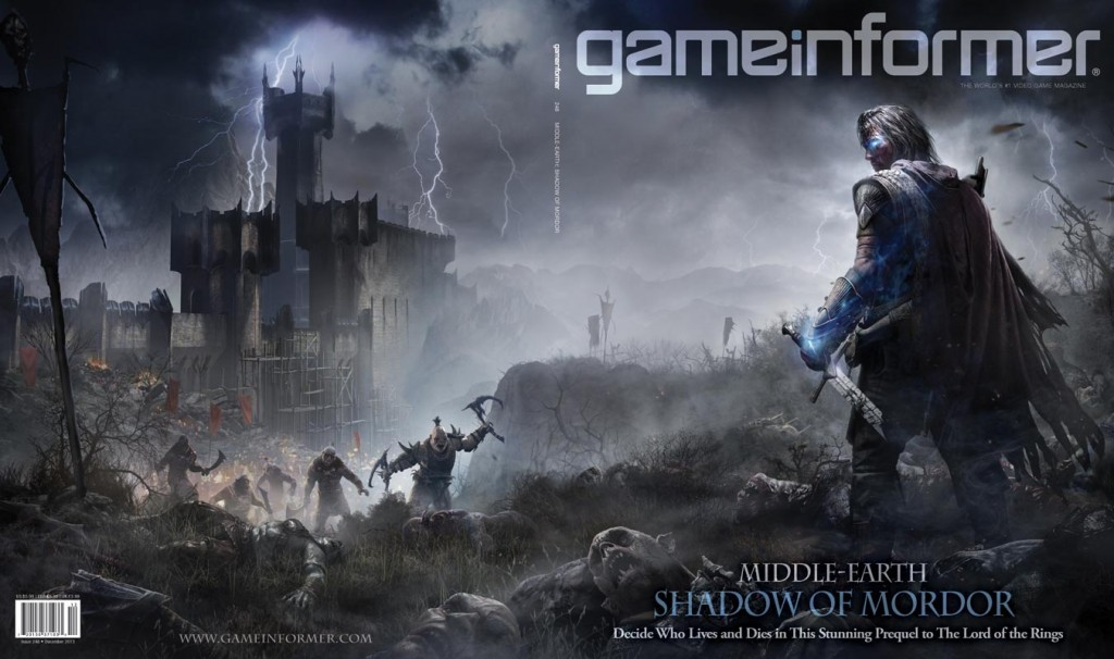 Game Informer - December 2013 - Middle-earth Shadow Of Mordor cover full