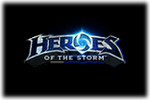 Heroes of the Storm Logo black