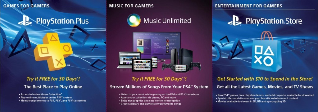 PlayStation 4 - PlayStation Plus - Music Unlimited
