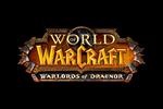 World of Warcraft - Warlords of Draenor Logo black