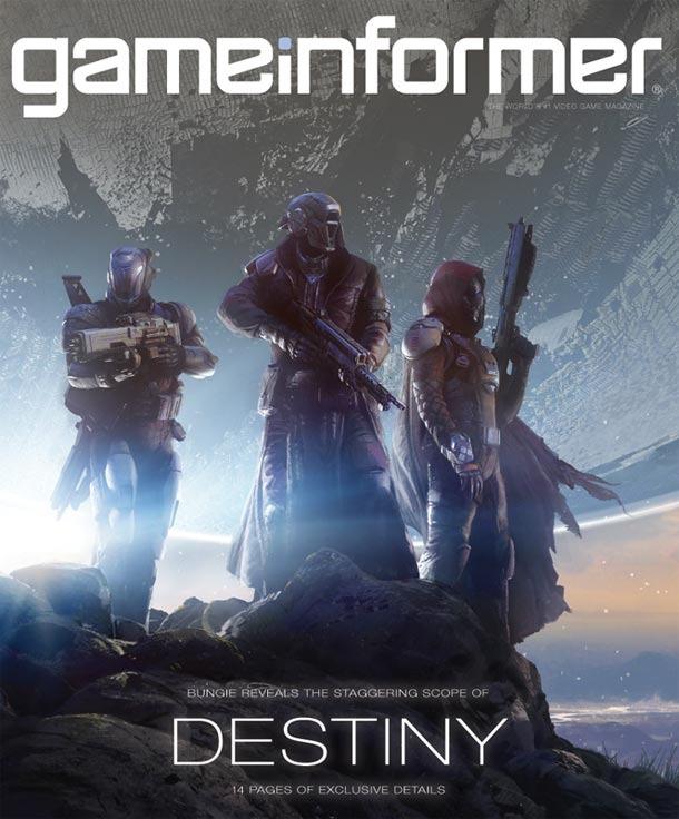Game Informer enero 2014 - Destiny cover Front