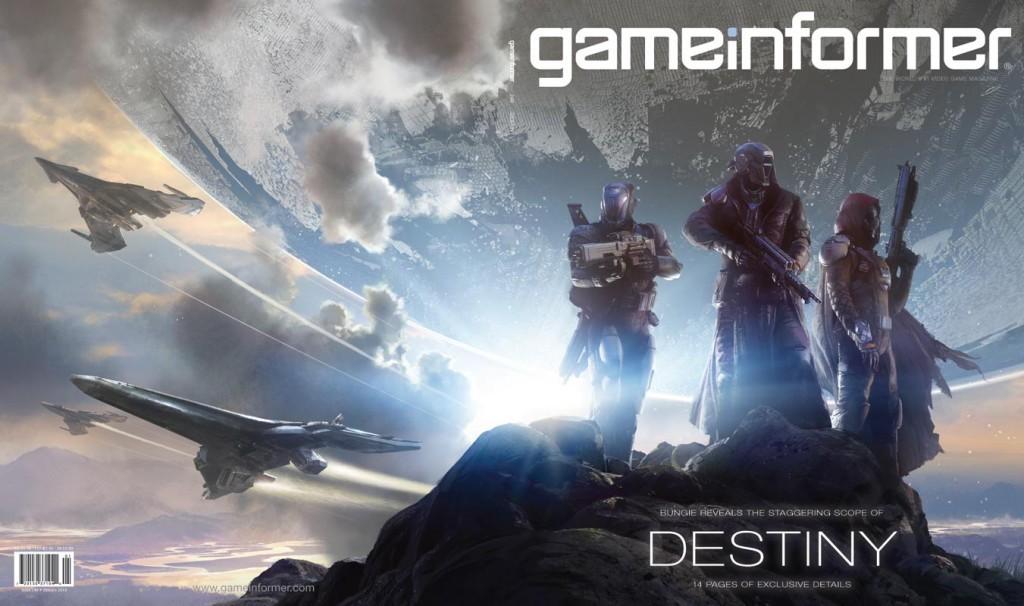 Game Informer enero 2014 - Destiny cover Full