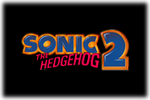 Sonic the Hedgehog 2 Logo black