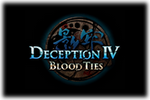 Deception IV Blood Ties Logo 2 black