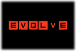 Evolve Logo black