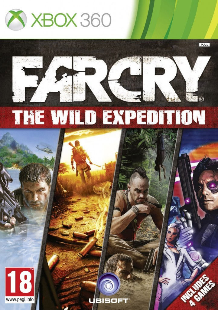 FarCry The Wild Expedition cover 360 EURO