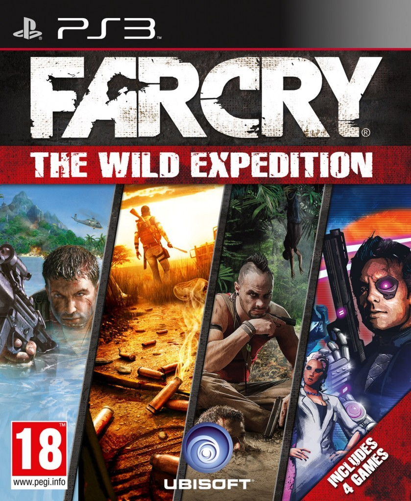 FarCry The Wild Expedition cover PS3 EURO