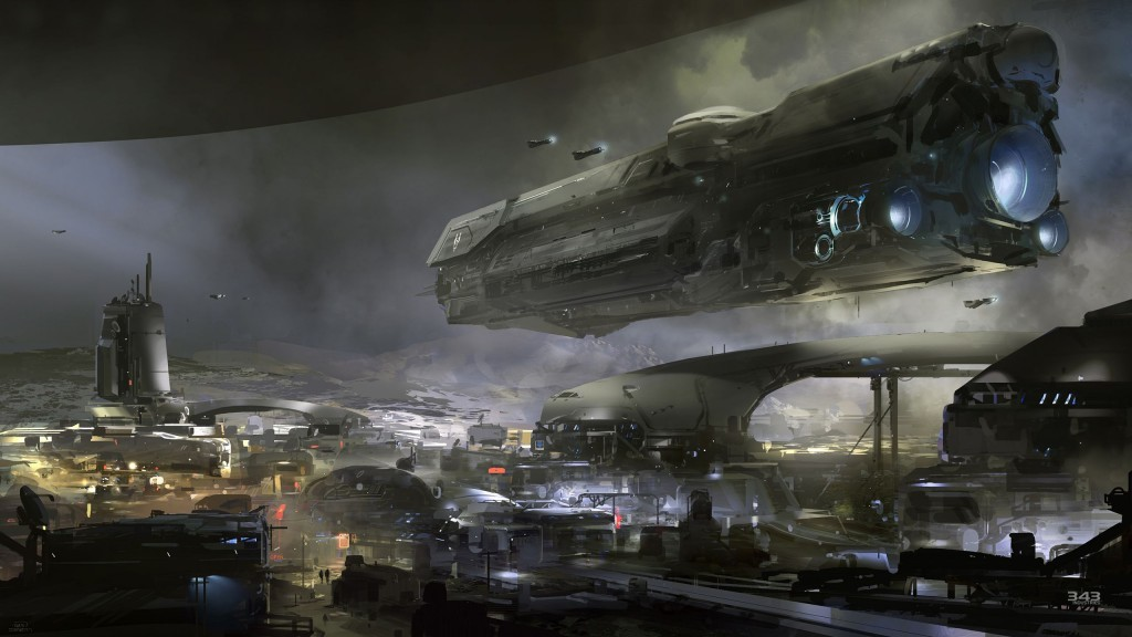Halo 5 Concept Art 10-01-14