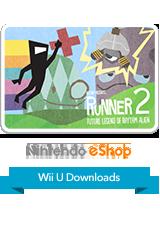 BIT.TRIP Presents... Runner2 - Future Legend of Rhythm Alien eShop Wii U Logo