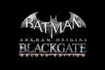 Batman Arkham Origins Blackgate - Deluxe Edition Logo black