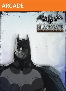 Batman Arkham Origins Blackgate Deluxe Edition cover Xbox LIVE Arcade
