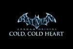 Batman arkham Origins DLC Cold Cold Heart Logo black