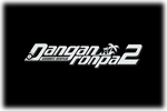 Danganronpa 2 Goodbye Despair. Logo black