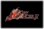 Fairy Fencer F Logo black