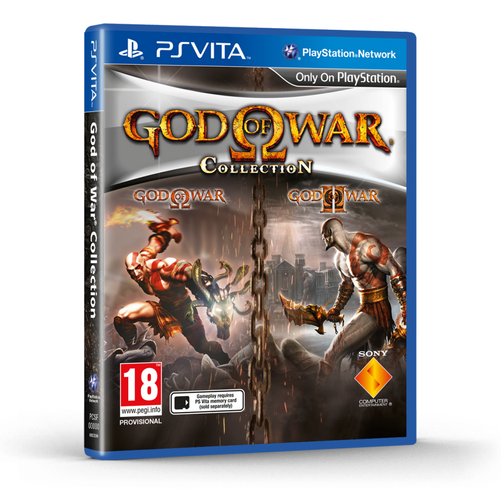 God of War Collection cover PS Vita EURO