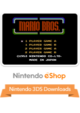 Mario Bros VC 3DS Logo