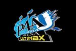 Persona 4 Arena Ultimax Logoblack