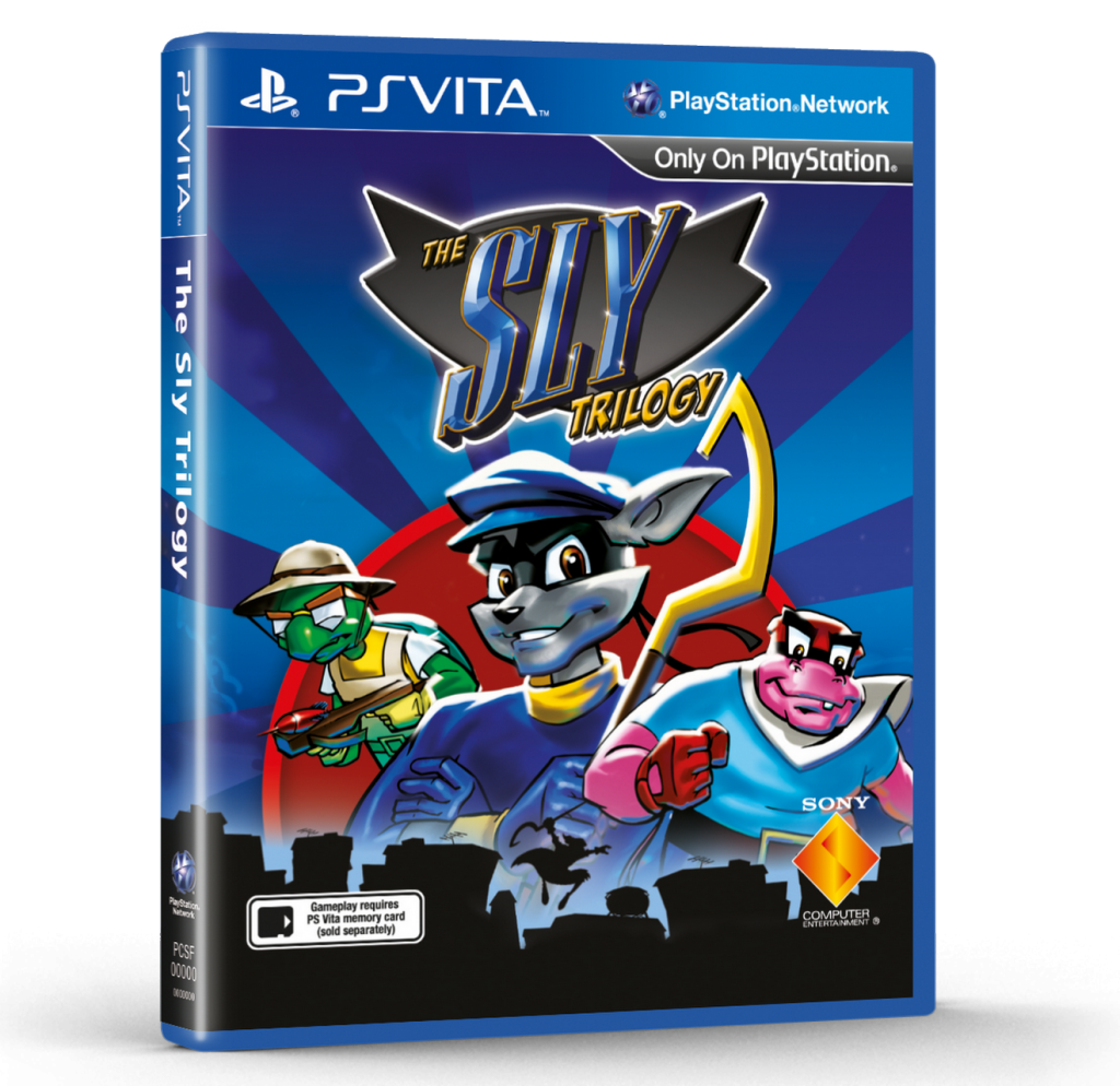 Sly Cooper Collection cover PS Vita EURO